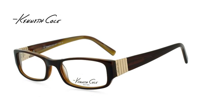 ebae03fe436 Kenneth Cole KC154 Brown Designer Glasses