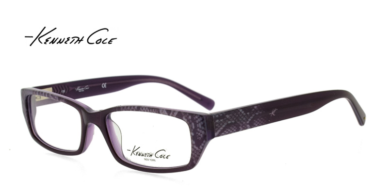 Kenneth Cole KC159 Purple Purple/Eggplant Designer Glasses