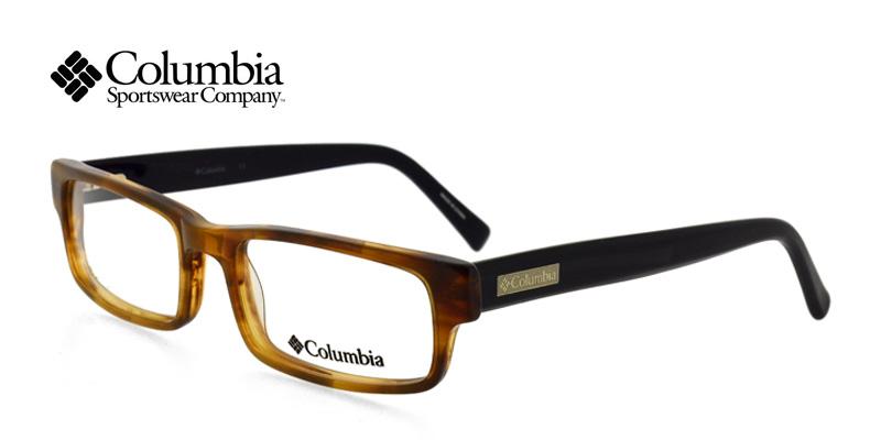 c4c1eec084 Columbia Green Mountain Brown Tortoise w Black Prescription Eyeglasses From   118