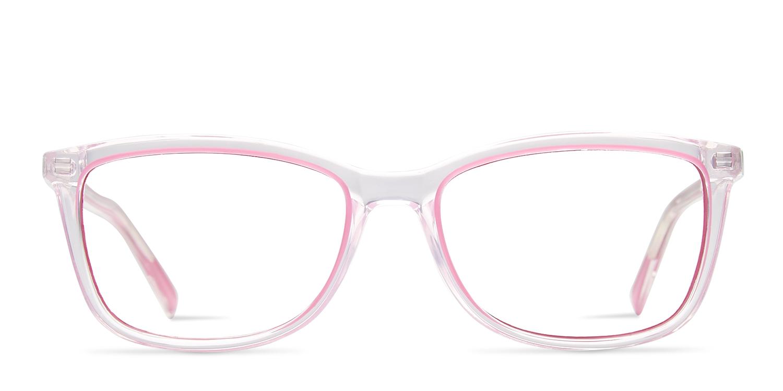3f76c7b5426 Just Cavalli JC530 Clear Pink Prescription Eyeglasses