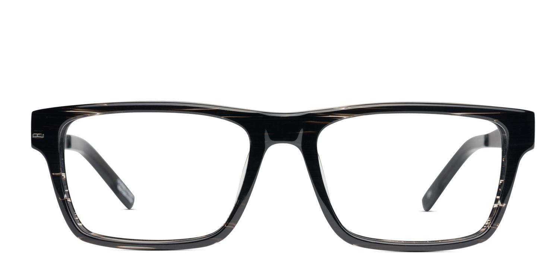 2cedf160b62 Spy Nate Black Stripe Prescription Eyeglasses