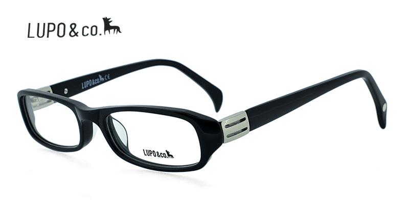 5 buy lupo 5564 black eyeglasses frames best price