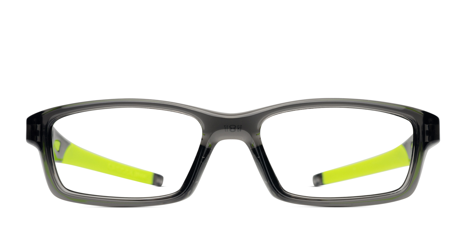 4a656c3dc34 Oakley Crosslink Clear Gray Prescription Eyeglasses