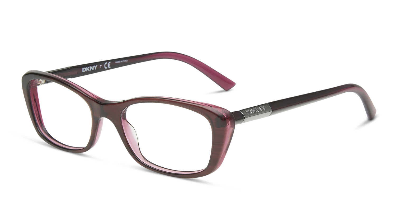 dkny 4661 burgundy standard prescription eyeglasses