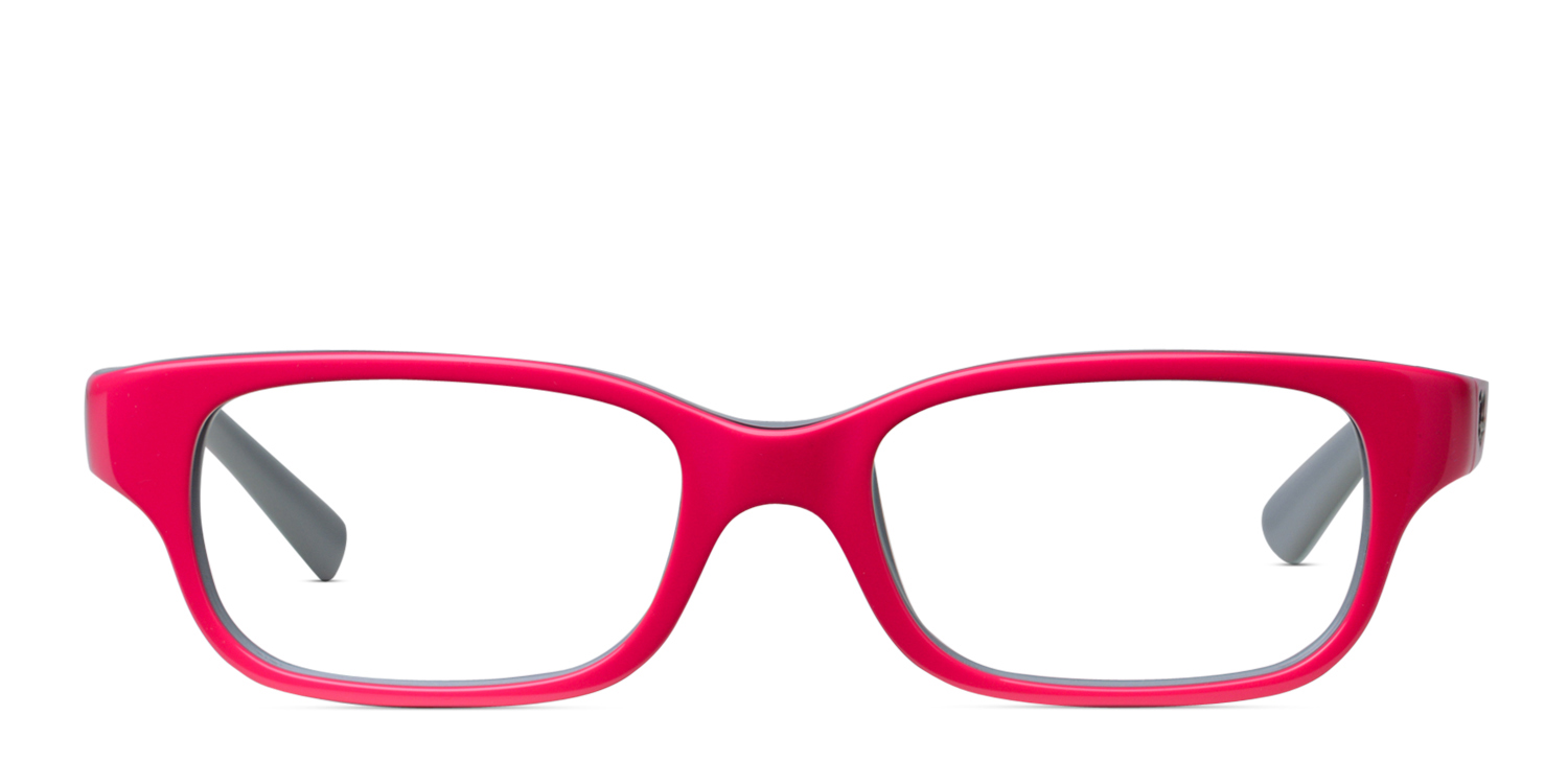 0e451f79e8d Ray-Ban JR Kids 1527 Pink w Gray Prescription eyeglasses