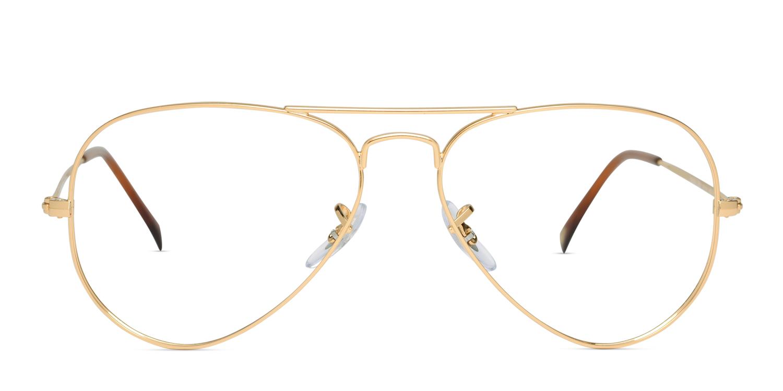 ae3625ae21 Ray-Ban 6049 Gold Prescription Eyeglasses