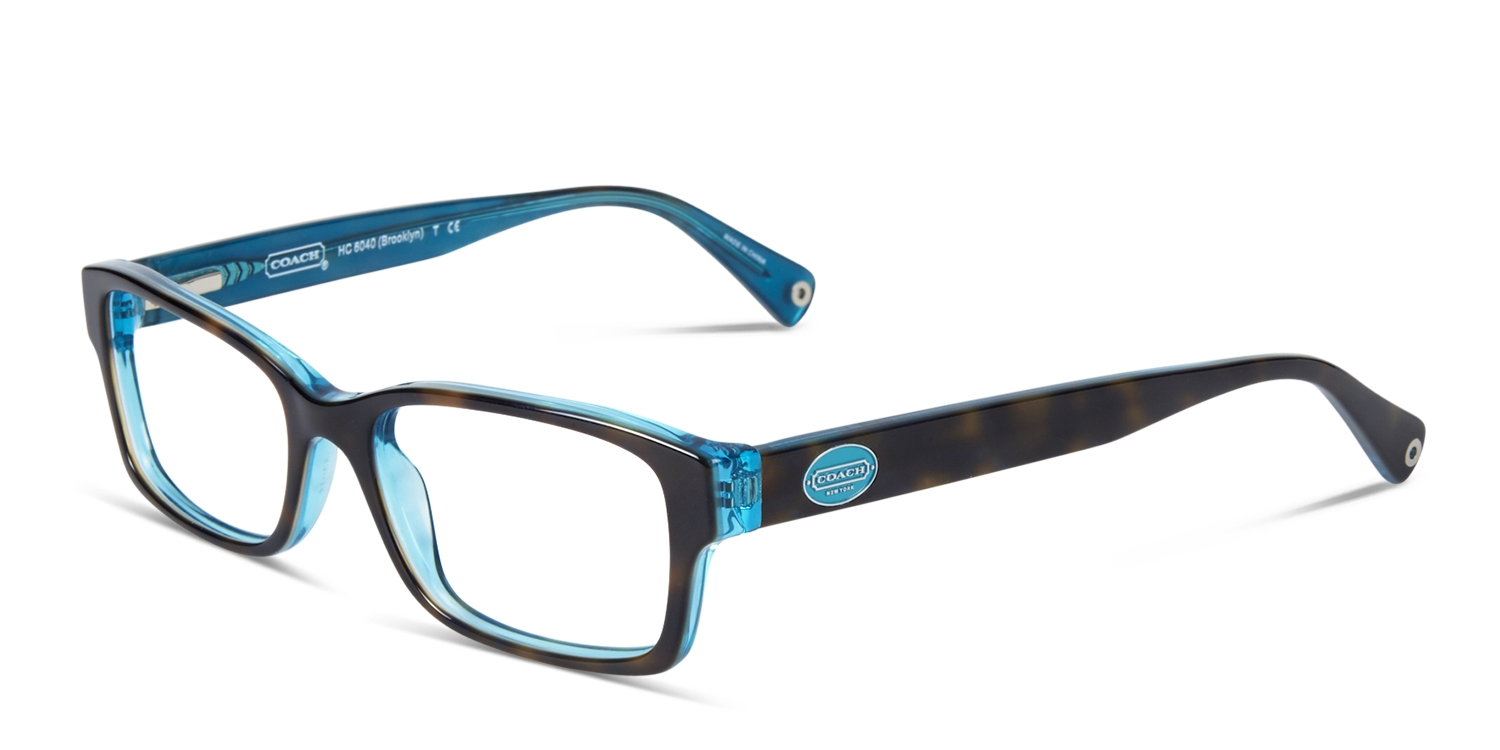 6ff64255a0c9 HomeCoach HC6040 Brooklyn Tortoise w/Teal. Try On. Premium