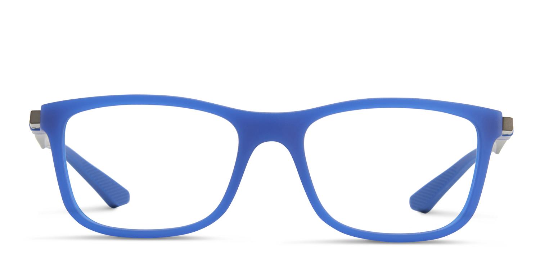 5cf25be351 ... blue rb 1555 eyeglasses front view 30afe db797 cheapest ray ban jr kids  1549 prescription eyeglasses 122ad aa5fc ...