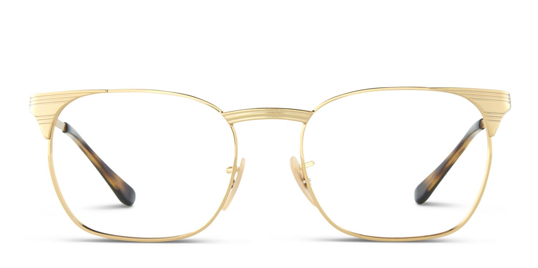 Ray-Ban 6386 Gold Prescription Glasses