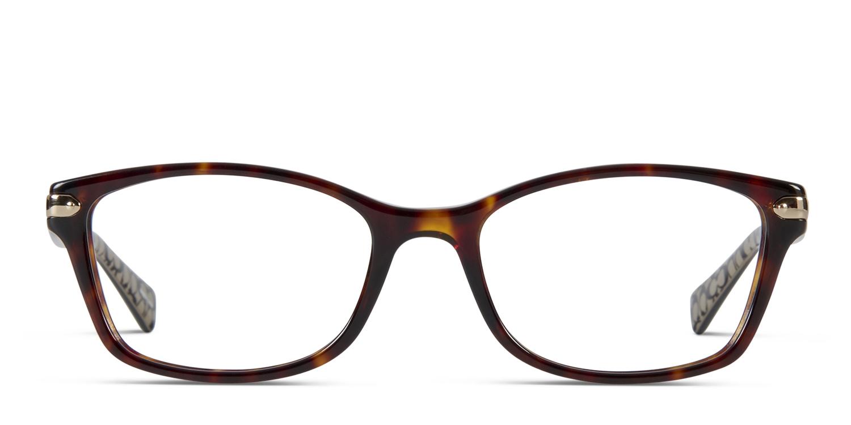 86784b2ae4 Coach HC6065 Brown w Pattern Prescription eyeglasses