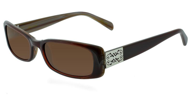 5f4181b566d Jill Stuart JS2024 Brown Prescription Sunglasses Get It Now ...