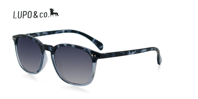 037ff0c71f Prescription Sunglasses Lupo 1037 Black Tortoise w Clear - Deal ...