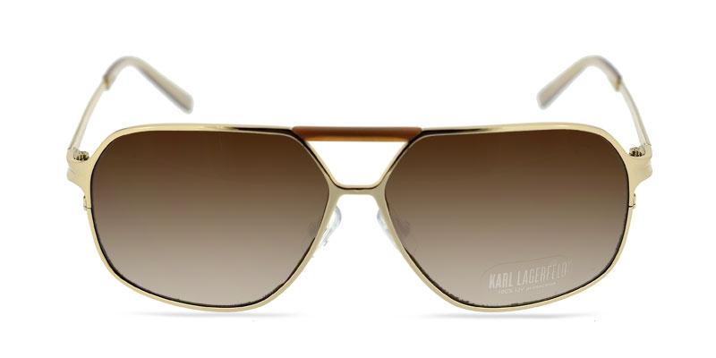 667de550780 Karl Lagerfeld KL178S Gold Sunglasses From  138