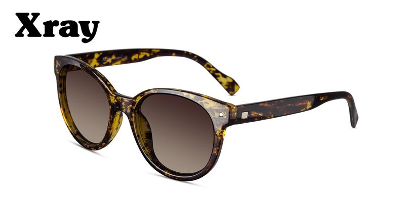 Prescription Sunglasses XRay BO6300 Amber Tortoise