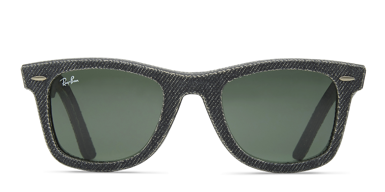 c65bf2f44e Ray-Ban 2140 Wayfarer Denim Prescription Sunglasses