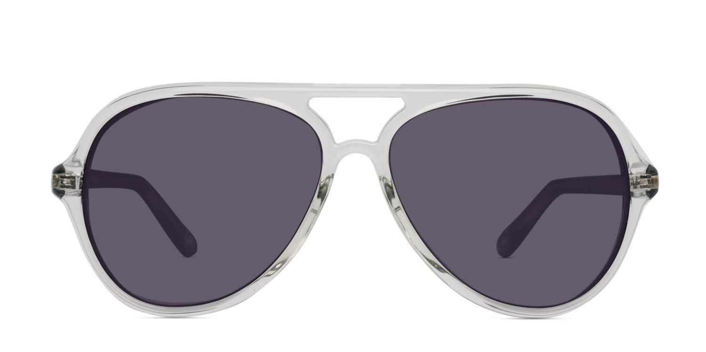 5f7141c9a2 Michael Kors Caicos Clear w Black Prescription Sunglasses