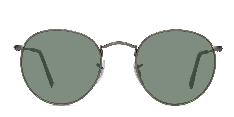 46ce5f2f6 Ray-Ban 3447 Round Metal Prescription Sunglasses