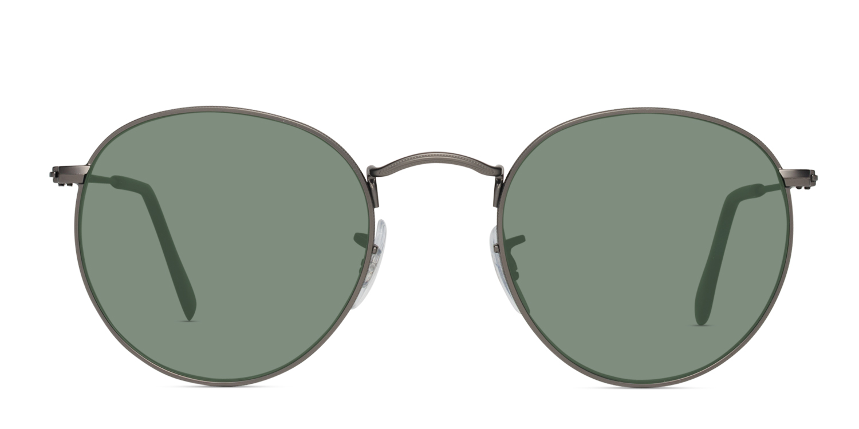 a8865dba5ae Ray-Ban 3447 Round Metal Prescription Sunglasses