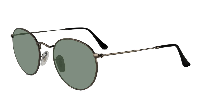 ray ban 3447 round metal prescription sunglasses. Black Bedroom Furniture Sets. Home Design Ideas