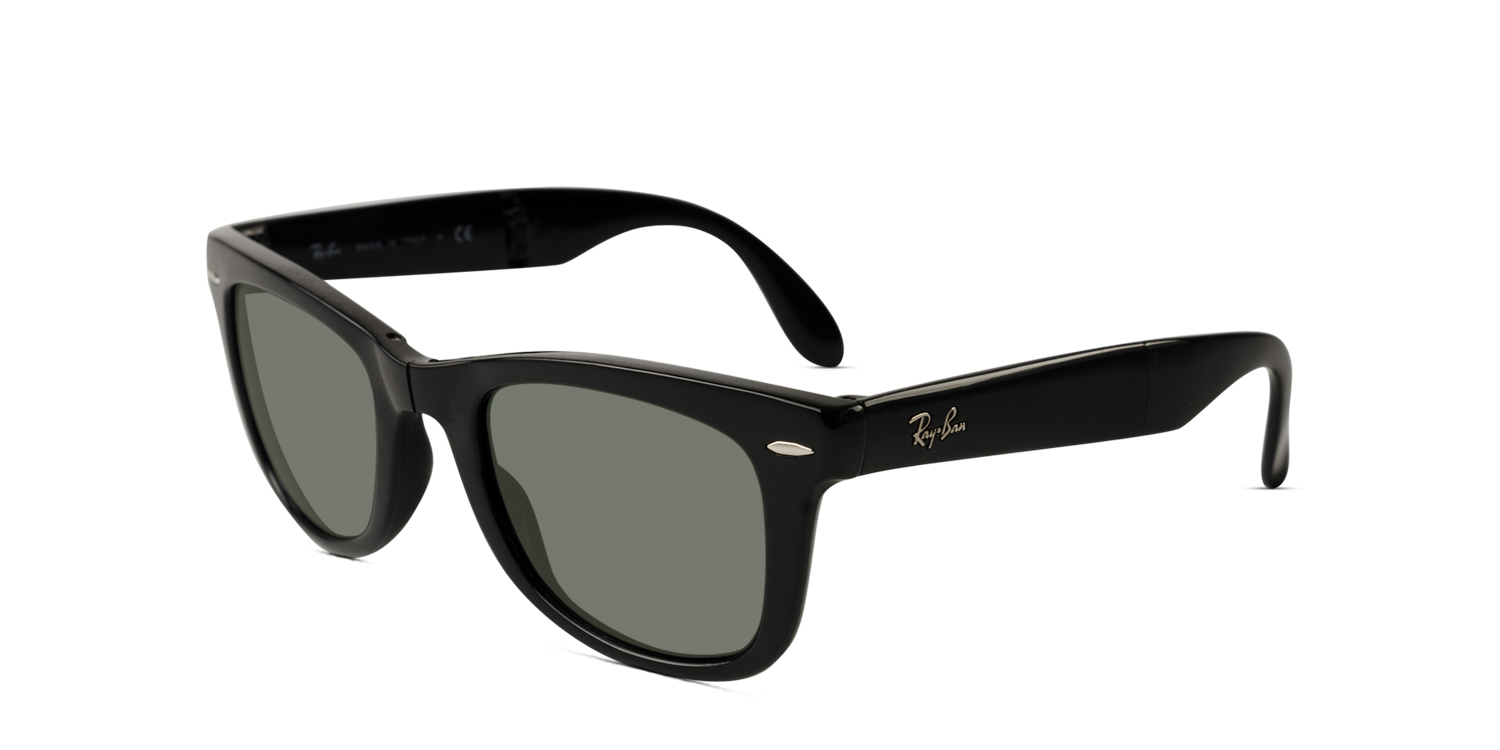 ray ban 4105 folding wayfarer prescription sunglasses. Black Bedroom Furniture Sets. Home Design Ideas