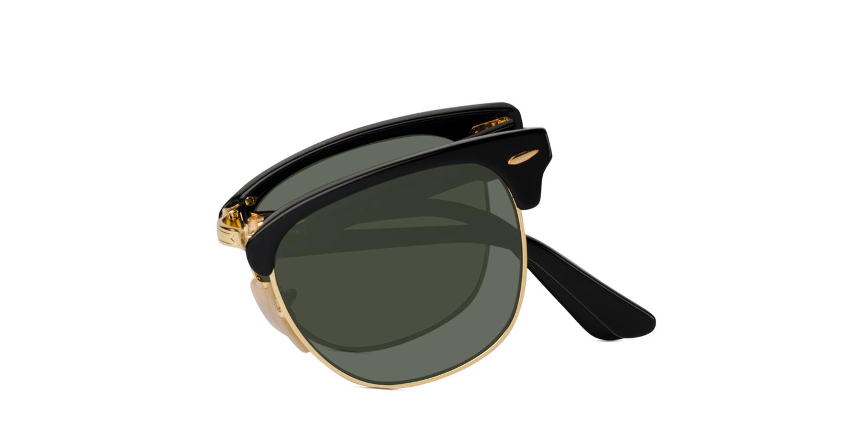 e6a438be8a Ray Ban Rb 2176. Ray Ban Folding Clubmaster Matte Black Sunglasses ...