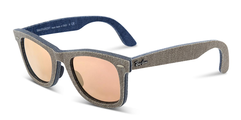 c65bf2f44e Ray-Ban 2140 Wayfarer Denim Prescription Sunglasses