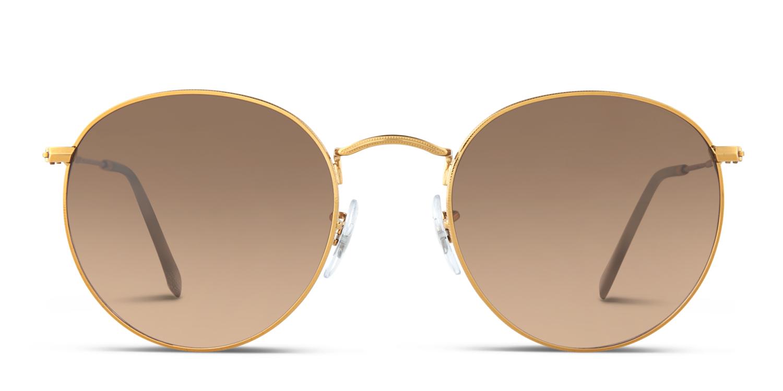 7e66abb105 Ray-Ban 3447 Round Metal Prescription Sunglasses