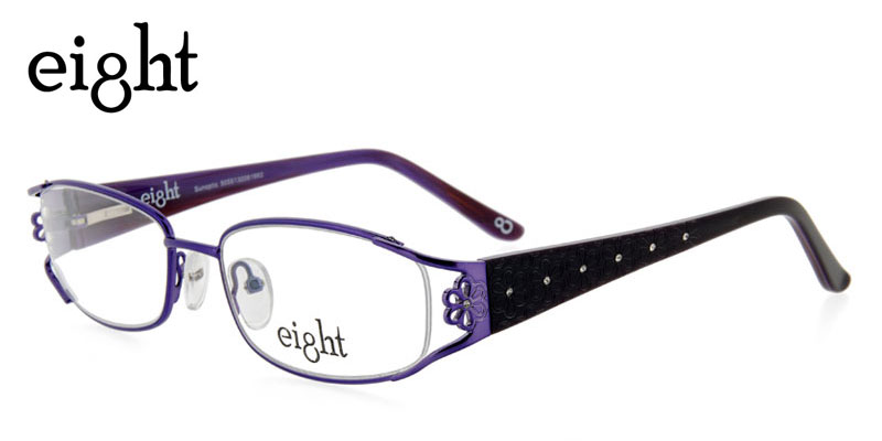 770c69342112 Eight L145C Purple Purple Eggplant Eye Glasses Save Today - Hot ...