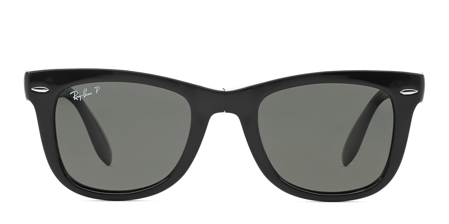 e8245bd0813c8 Ray-Ban 4105 Foldable Wayfarer Prescription Sunglasses