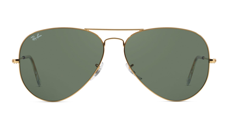 a9527b4d8 Ray-Ban 3026 Aviator Large Metal Prescription Sunglasses