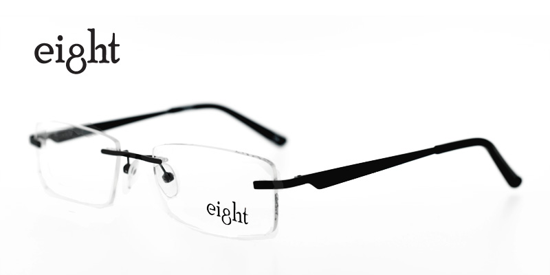 Eight 692 Black Prescription Glasses