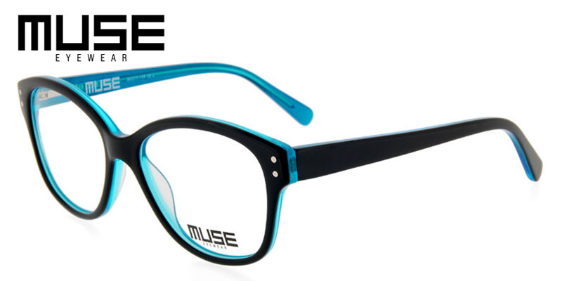 Buy cheap personal care - Muse Cruz Black w/Turquoise Cheap Eyeglasses