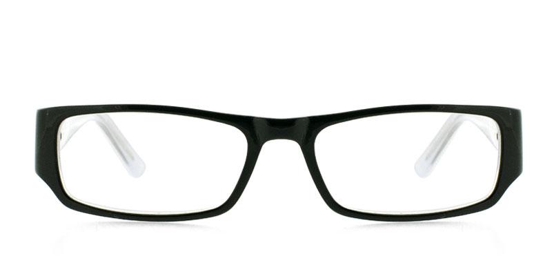 db85ff29c41 Muse Reed Black w Clear Prescription Eyeglasses From  89