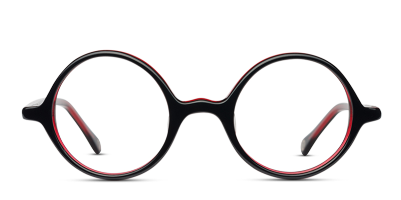 816251039b3  89 - Glasses Frames Muse Charleston Black w Red Eyeglasses Black ...