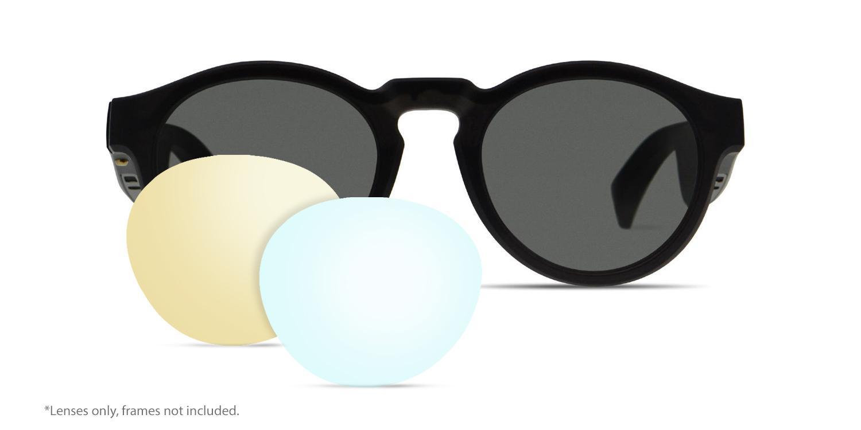 2 x Polarized Replacement Lenses For-Bose Frames Rondo Audio Sunglasses Premium