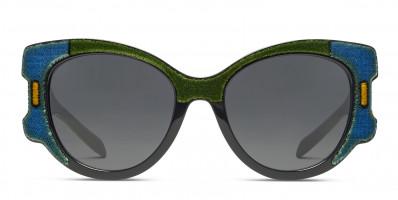 Prada PR 10US Green/Blue/Black