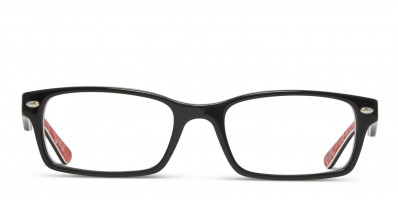 Ray-Ban 5206 Black w/Red