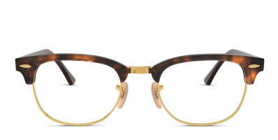 Ray-Ban 5154 Clubmaster Tortoise w/Gold