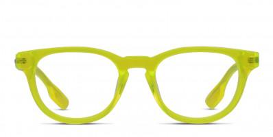 Alexander McQueen McQ MQ0033O Yellow/Clear