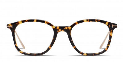 Tom Ford TF5484 Tortoise/Yellow/Gold