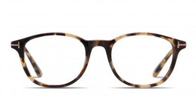 Tom Ford TF5553-B Tortoise/Beige/Gold