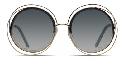 Chloe CE120S Gold/Gray/Clear