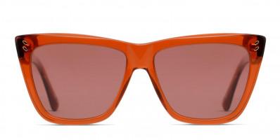 Stella McCartney SC0140S Orange/Clear