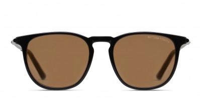 Bottega Veneta BV0168S Shiny Black/Brown