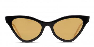 Gucci GG0597S Shiny Black/Yellow