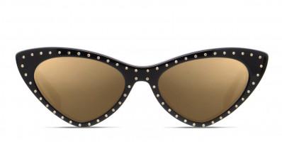 Moschino MOS006/S Shiny Black/Gold