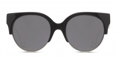 Alexander McQueen McQ MQ0048SA Black/Gunmetal/White