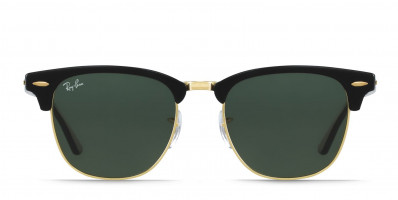 Ray-Ban 3016 Clubmaster Black w/Gold
