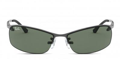 Ray-Ban RB3183 Gunmetal/Green