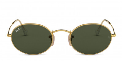 Ray-Ban RB3547 Gold , Green